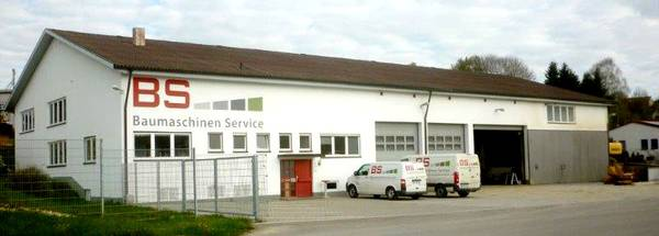 construction machine service in South Germany