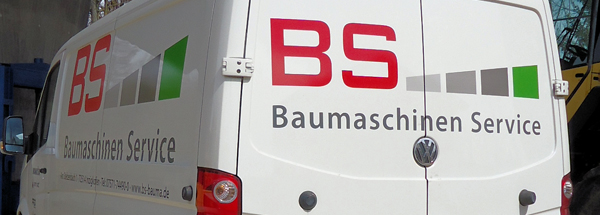 Location of BS Baumaschinen Service | construction machinery sales and renting