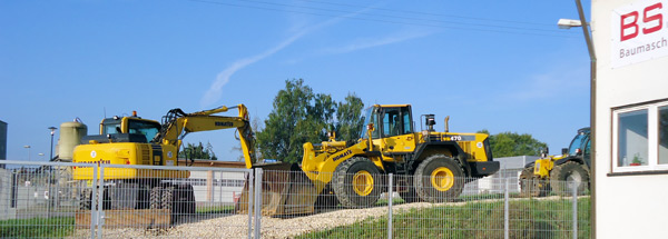 construction machines sales Germany
